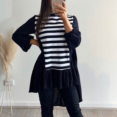 Bagira Tiered Top -  Striped