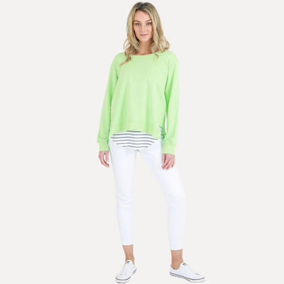 Ulverstone Sweater - Neon Mint