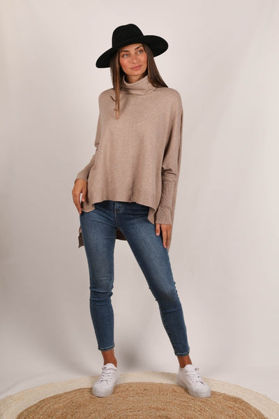 Spencer Knit - Mocha