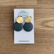 Ashlee Earrings - Navy
