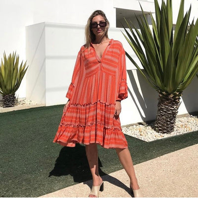 KIIK Luxe Dress Coral