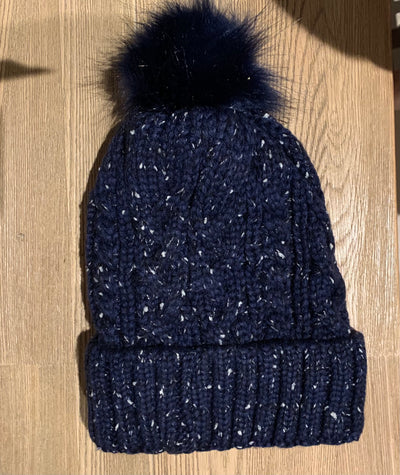 Marie Cable Knit Beanie