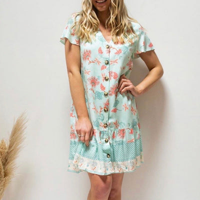 Audrey Dress - Mint