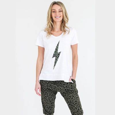 Leopard Lightening Tee
