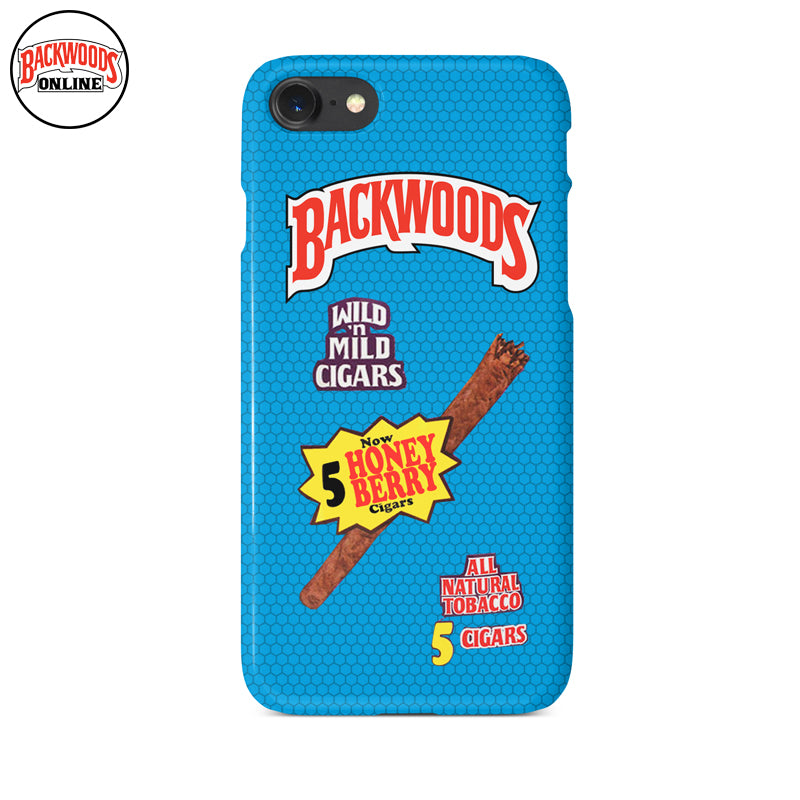 Backwoods Cigars Honey Berry Blue Iphone Case