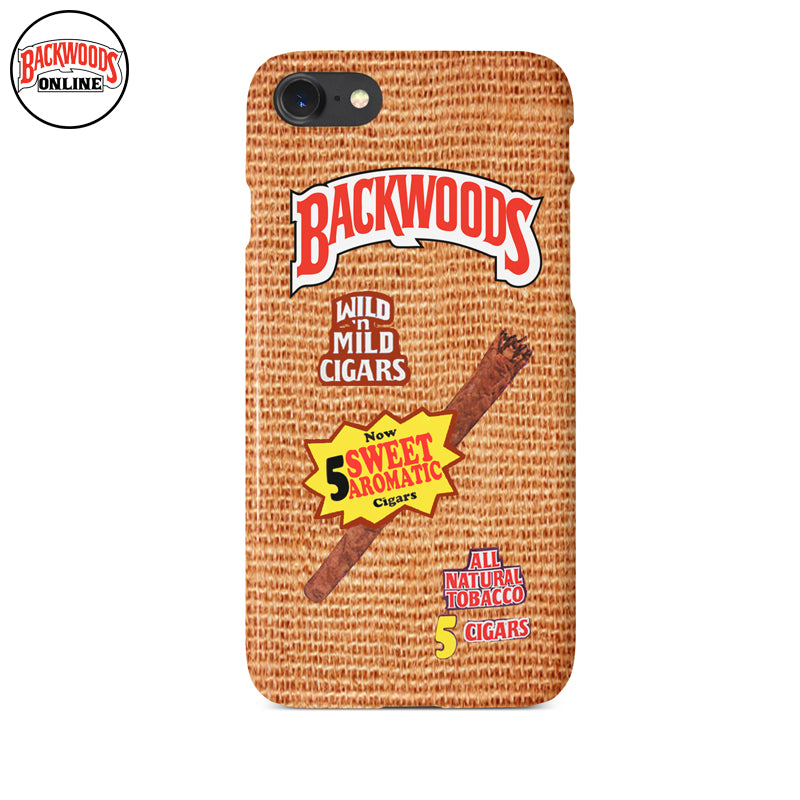 Backwoods Cigars Sweet Aromatic Iphone Case