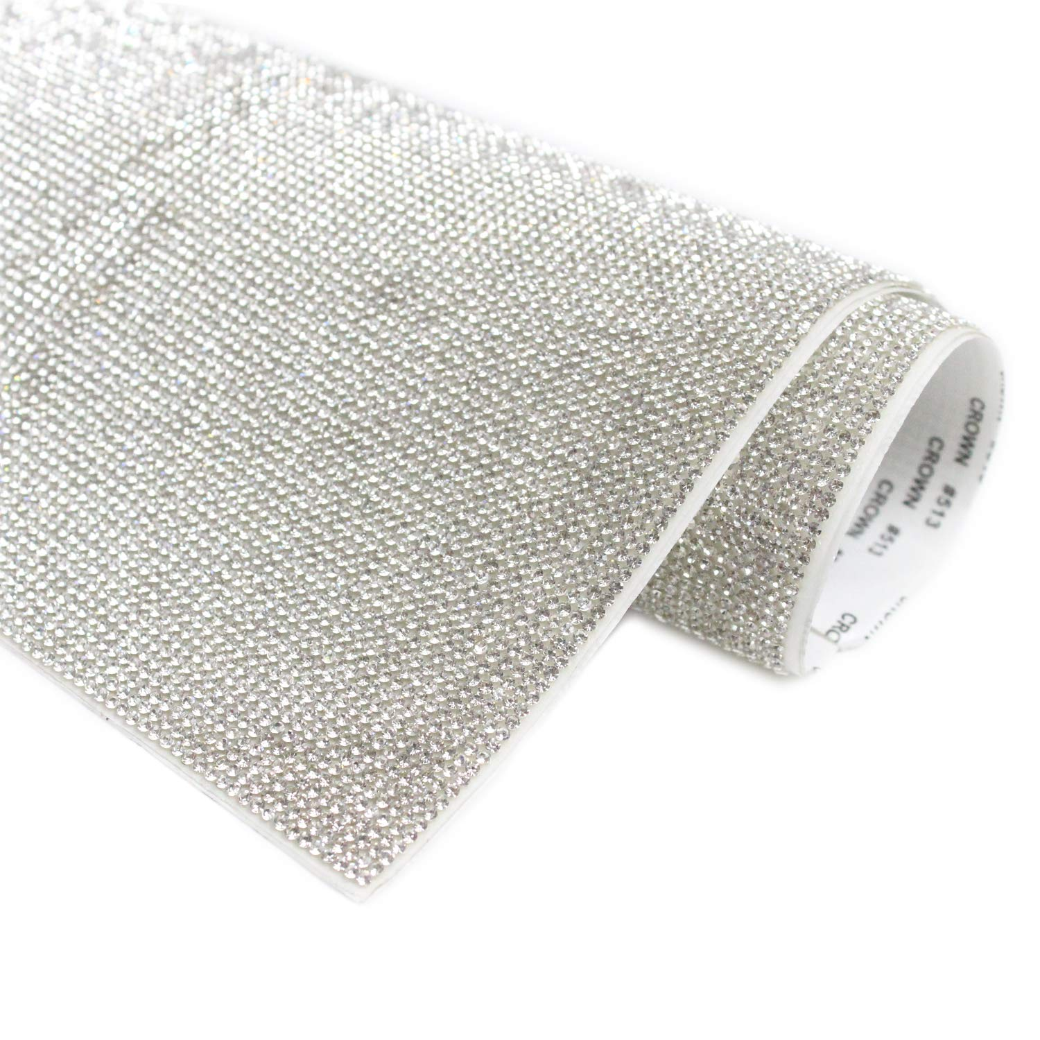 Self-adhesive Crystal rhinestone stickers sheet