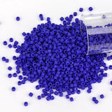 Miyuki Delica Seed Beads 11/0 Opaque Matte Royal Blue DB-756