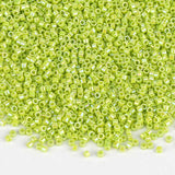 Miyuki Delica Seed Beads 11/0 Opaque Chartreuse AB DB-169