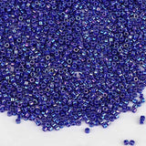 Miyuki Delica Seed Beads 11/0 Opaque Cobalt AB DB-165