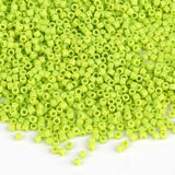 Miyuki Delica Seed Beads 11/0 Opaque Chartreuse DB-733