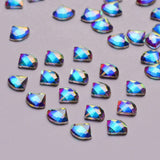Sector Shape Crystal AB Flat Back Fancy Rhinestones - WholesaleRhinestone