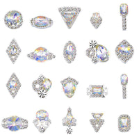 Alloy Nail Art Rhinestones Charms Gems Stones Decoration JC80-JC100 - WholesaleRhinestone