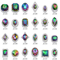 Alloy Nail Art Rhinestones Charms Gems Stones Decoration JC125-JC148 - WholesaleRhinestone