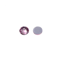 Light Amethyst Glass HotFix Rhinestones 16 Cut Facets