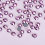 Light Pink HotFix Rhinestones 8 Big 8 Small Cut Facets