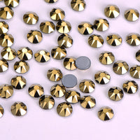 Aurum HotFix Rhinestones 8 Big 8 Small Cut Facets