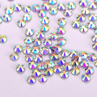 Crystal AB Glass HotFix Rhinestones