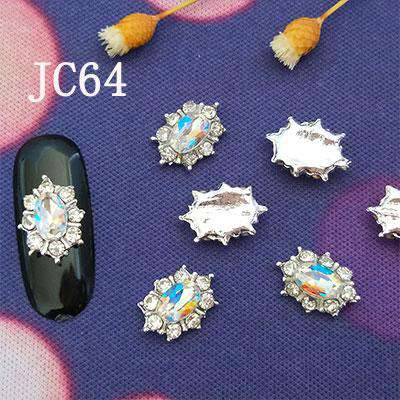 Alloy Nail Art Rhinestones Charms Gems Stones Decoration JC61-JC80 - WholesaleRhinestone