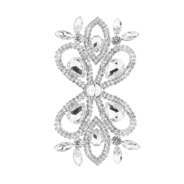 Sew-on Crystal Glass Rhinestone Applique RA568