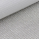 Crystal Hot-Fix Rhinestone Mesh Sheet Aluminum Metal Trim