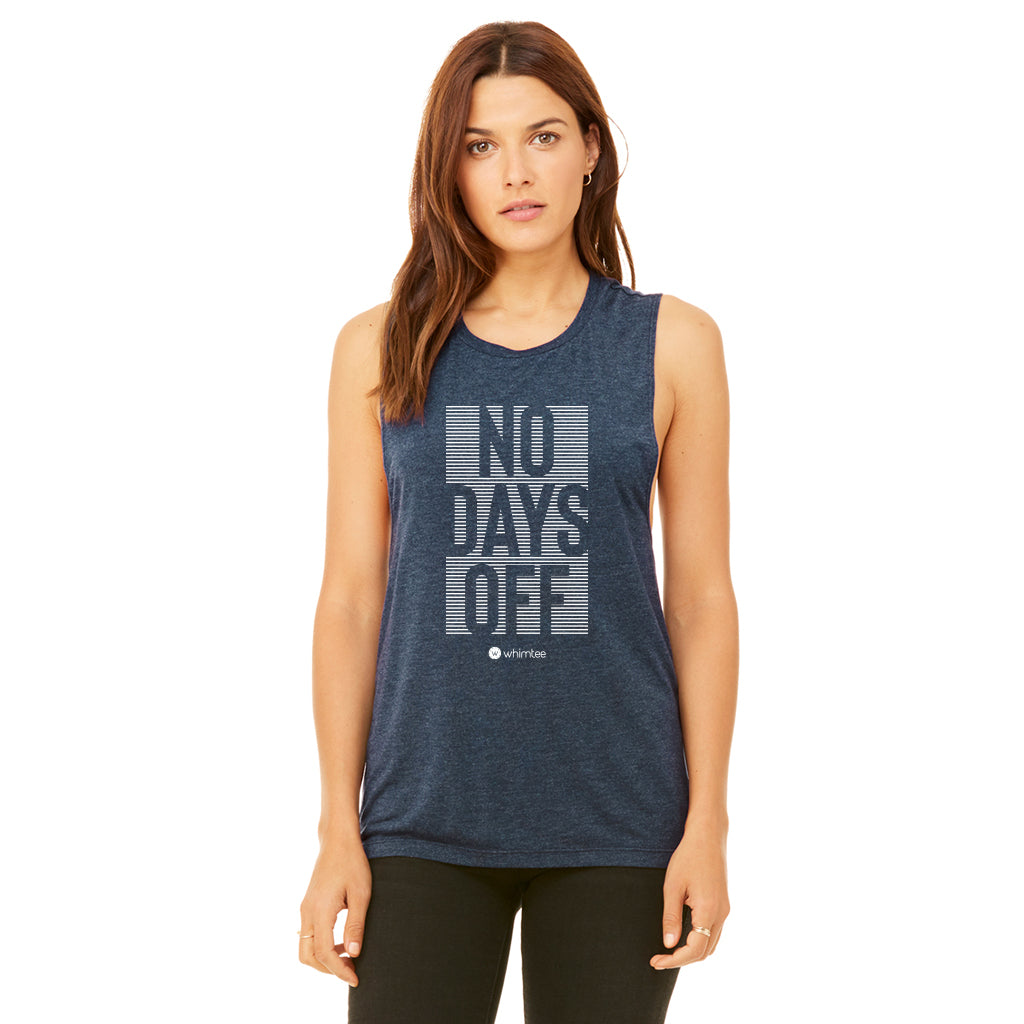 NO DAYS OFF MUSCLE TEE