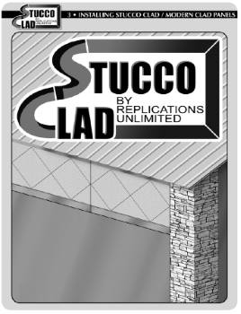 Stucco Clad Instructions