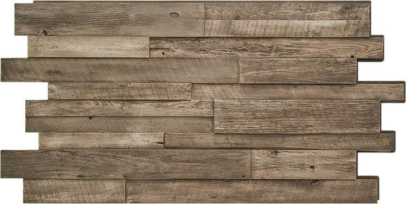Reclaimed Wood 4x8' DP2430 -DP2430- Fauxstonesheets