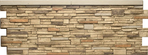 Virginia Stacked Stone Wainscot DP2722 -DP2722- Fauxstonesheets