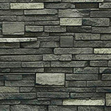 Virginia Stacked Stone Wainscot End cap (right) DP2725 -DP2725- Fauxstonesheets