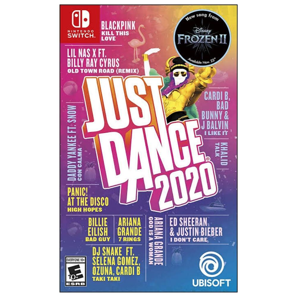 Juego de Video Switch - Just Dance 2020