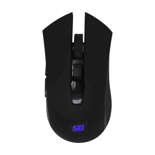 Mouse Gamer Vorago Start the game MO-600 Inalámbrico 2400 DPI - Negro - iMports 77