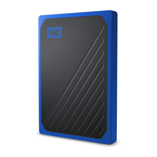 Disco Duro Western Digital SSD 1tb My Passport GO - azul