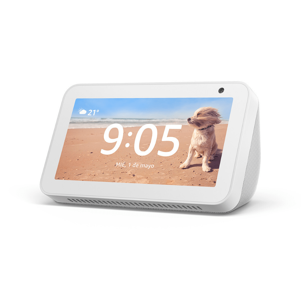 "Bocina Amazon Echo Show 5"" Asistente Inteligente - Blanco"