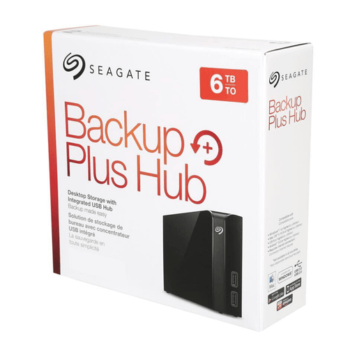 Seagate Backup Plus Hub 6TB