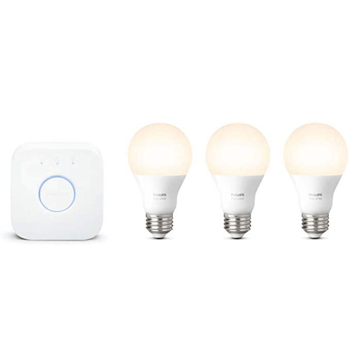 Kit Philips Hue 3 Focos Blancos + Bridge - iMports 77
