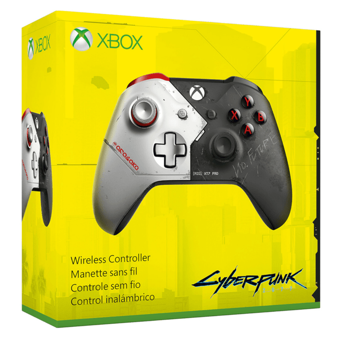 Control Inalámbrico Xbox One - Limited Edition - Cyberpunk 2077