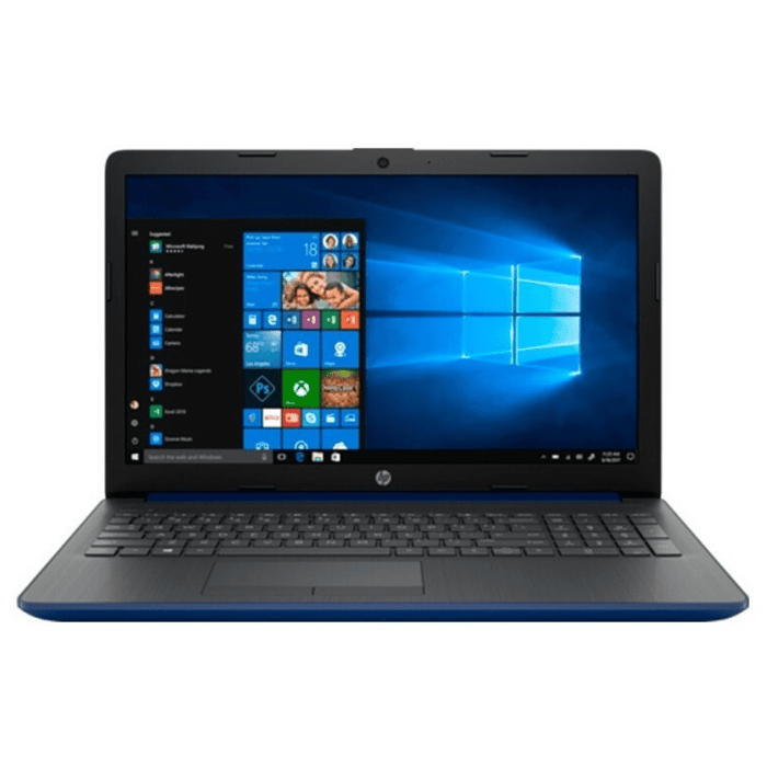 "Laptop HP 15.6"" 15-da0077la -  Azul"