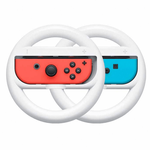 Volante para Joy-Con Set de 2 Nintendo Switch- Blanco