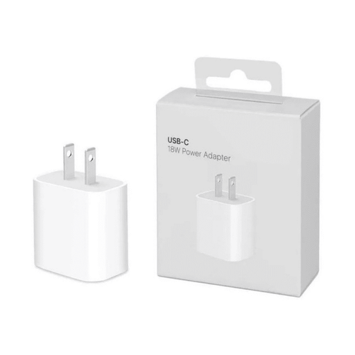 Adaptador de corriente USB-C 18W Apple - iMports 77