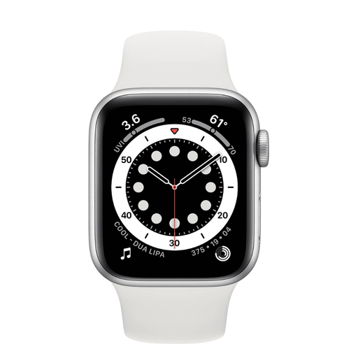 Apple Watch Series 6 40mm Sport - Silver - iMports 77