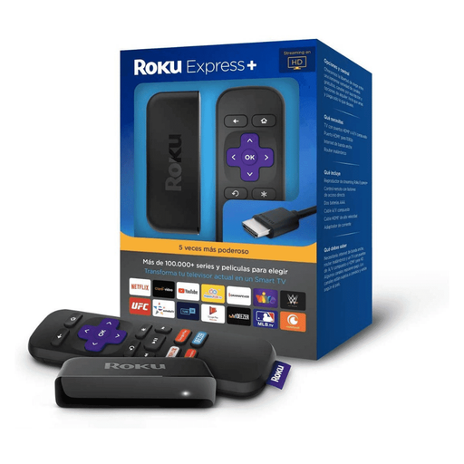 Dispositivo Streaming Roku Express Plus - Azul - iMports 77