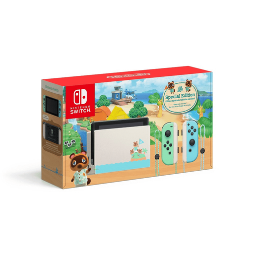 Consola Nintendo Switch 1.1 Edición Especial - Animal Crossing (Verde/Azul) - iMports 77