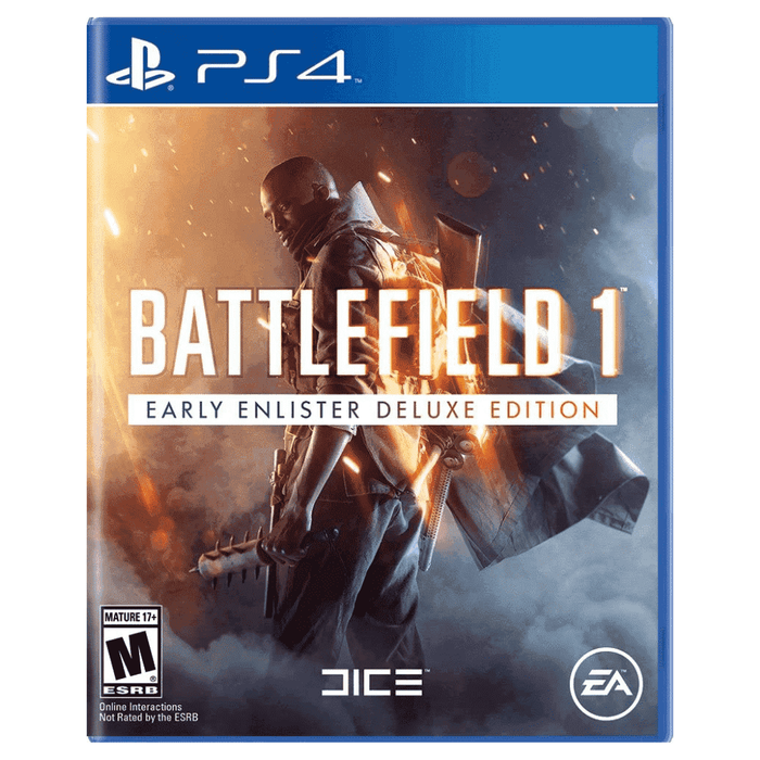 Juego PS4 Battlefield 1 Early Enlister Deluxe Edition