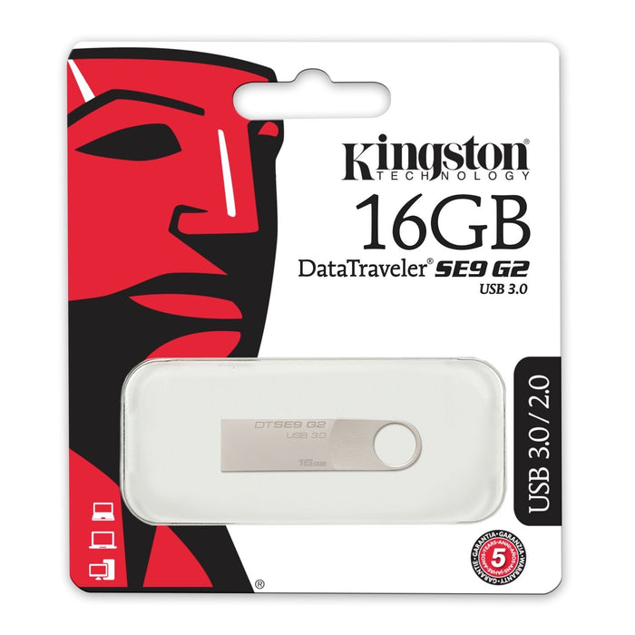 Memoria USB Kingston Datatraveler SE9 G2 Metal - 16gb - iMports 77
