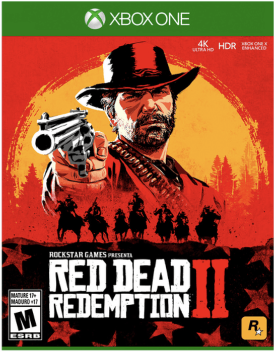 Video Juego Xbox One Red Dead Redemption II