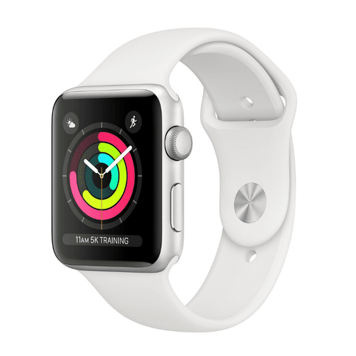 Apple Watch Series 3 38mm - Silver Aluminum White - iMports 77
