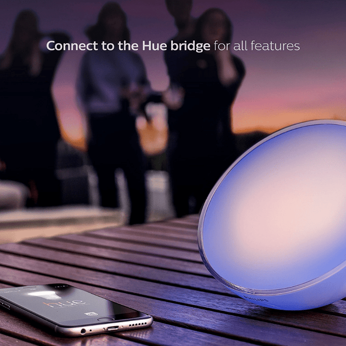 Lámpara Portátil Philips HUE Go Color