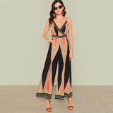 Boho Wide Leg Jumpsuit