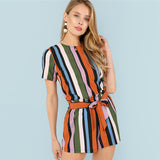 Multicolour Two Piece Set